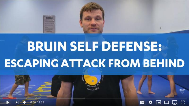Bruin Self Defense: Escaping Attack From Behind