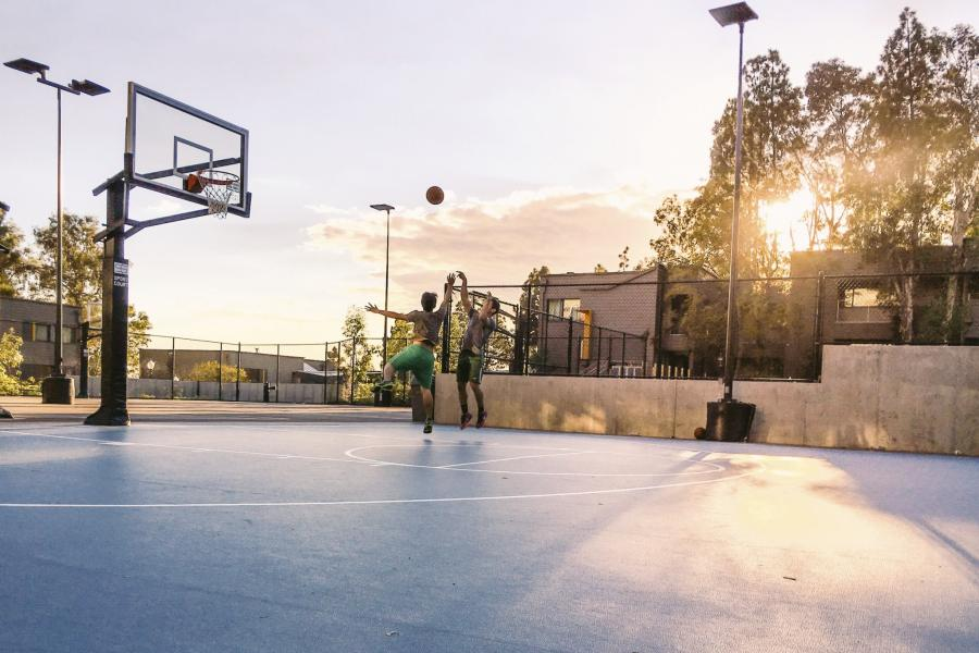 Hitch Basketball Court